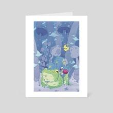 Toad Merchant - Art Card by Trevor Kyler