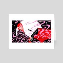 Elton John - Art Card by Tara Jacoby