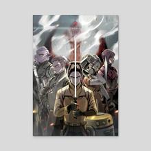 Star Wars Rebels Ghost Crew - Acrylic by BEHINDxa BEHIND