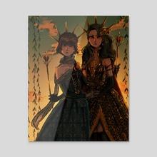 [Persona 5] Royalty - Acrylic by Jazlyn