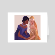 Zoyalina - Art Card by Nanna Arts