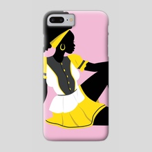 Garifuna Girl I - Phone Case by Keviette Minor