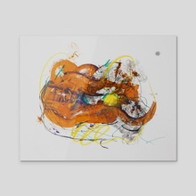 painting-92 - Acrylic by wudufu