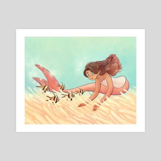 Mermay - Banggai Cardinalfish by Kellie Nicely