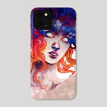 In Her Burning: Perpetual Light (color) - Phone Case by Sin Ribbon
