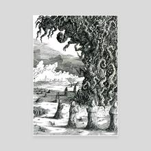 Fukushima Conjuration - Canvas by matthew sergison-main