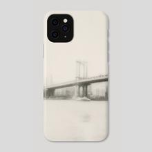 Manhattan Bridge - Phone Case by Ines Marinho