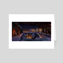 Merry Christmas 2020 - Art Card by Derek Weselake