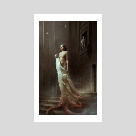 THE PRIEST'S DAUGHTER by Bastien Lecouffe Deharme