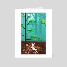Where's your mom?  - Art Card by Ivan Barriga