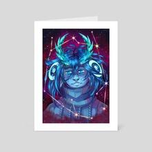 Constellation - Art Card by Isca Redspider