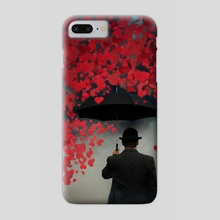 under the umbrella - Phone Case by Sergey Fett