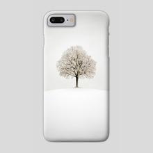 White - Phone Case by Tóth Zoltán