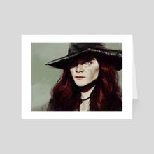 anne - Art Card by Jane