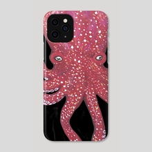 octopus 2 - Phone Case by ros custom