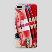 Dodge viper - Phone Case by Ilya Avakov