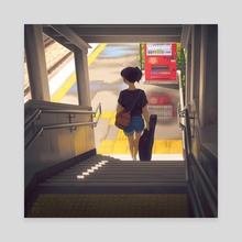 Summer Memory - Canvas by SAU