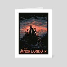 Vist Anor Londo - Art Card by Matheus Lopes