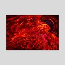 Android - Phoenix - Canvas by Liiga Smilshkalne