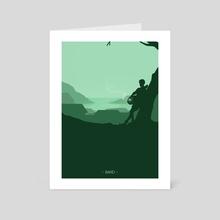 Bard - Art Card by Mariacristina Gugliotta