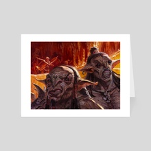 You See A Pair Of Goblins - Art Card by Aaron Miller