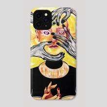 The Nightmares of an Angel  - Phone Case by Diana Dima
