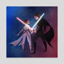 Force Dyad - Canvas by Richelle Canto