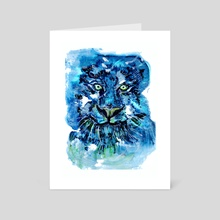 Tiger - Art Card by Annick Ip