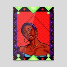 Janae Amber - Acrylic by Carlos Gee