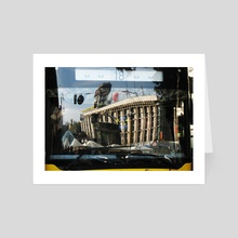 Reflection of city - Art Card by Dmytro Rybin