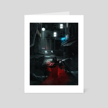 Origins Of The Knight  - Art Card by Kode Subject