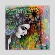 Lorde - Acrylic by Roselin Estephanía