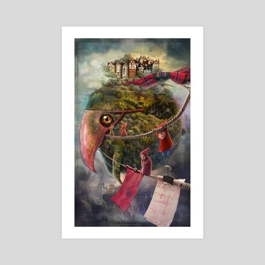 """The Flying Garden"" by Matylda Konecka"