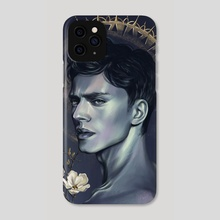 The moment of reflection  - Phone Case by Olga Doberstein