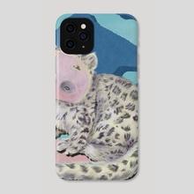 Abbey the Loop Leopard - Phone Case by Hounyeh Kim
