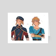 botw link - Art Card by idleguard