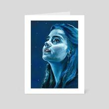 Clara Oswald - Art Card by Chantal Handley