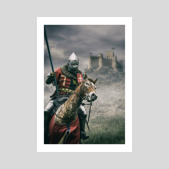 Middle Ages Knight by Carlos Caetano