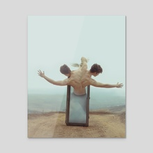 Duality - Acrylic by Rosco Adrian Stef