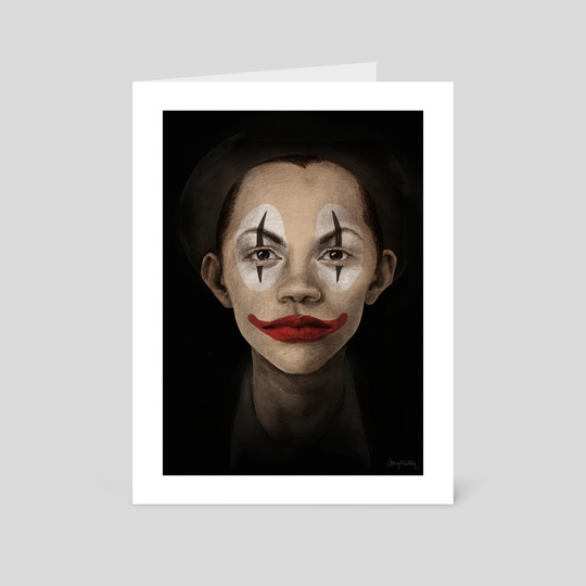 Clown by Jay Kelly Illustration