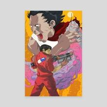 Akira - Canvas by Jai Kamat