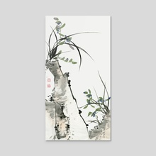 Orchid - 120 - Acrylic by River Han