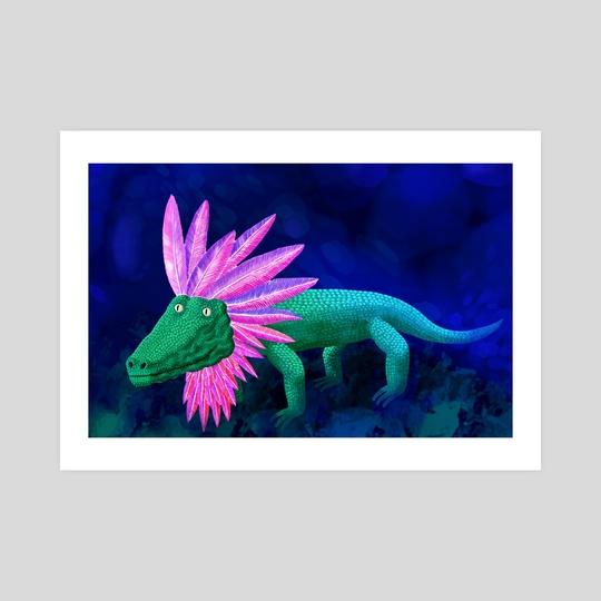 Liz the lizard by Pop Mircea