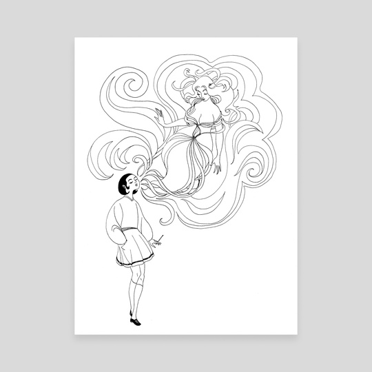 Cigarette Genie by Suzannah Rowntree