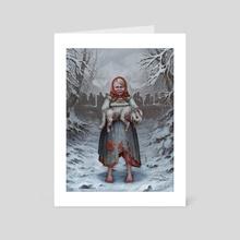 Best friend - Art Card by Evgen Pivovarov