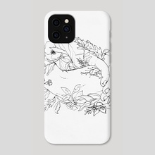 intertwined - Phone Case by India Mawn