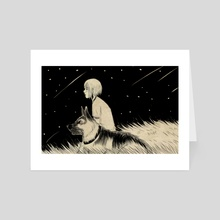 Together Forever - Art Card by Carlos Gee