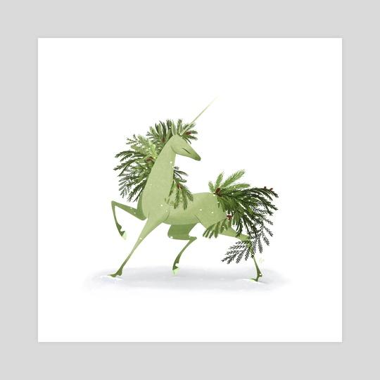 Evergreen Unicorn by Katharine Henry