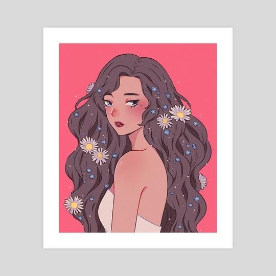 Flower Child by Nekomori Art