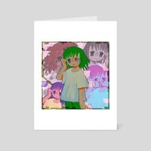 glitch - Art Card by Plastiboo